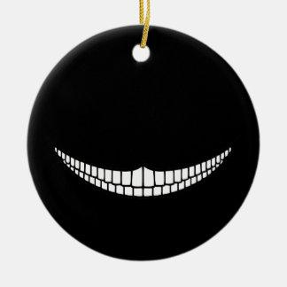 Mueca de Cheshire Ornaments Para Arbol De Navidad