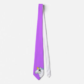 Mueca de la corbata del unicornio