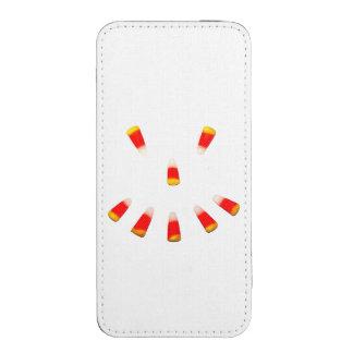 Mueca de las pastillas de caramelo de Halloween Funda Acolchada Para iPhone