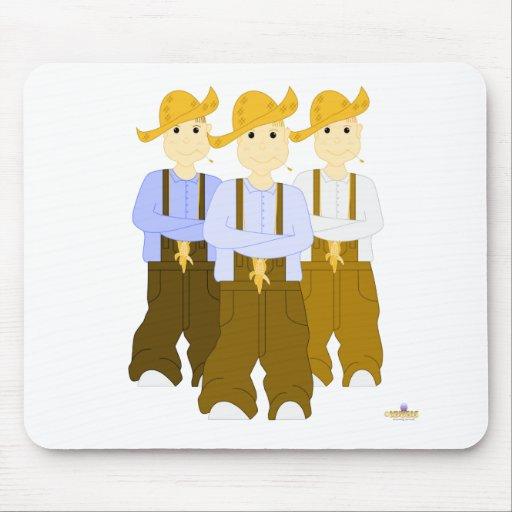 Mueca de los pantalones de Farmies BBR Brown Mousepad