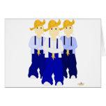 Mueca de los pantalones del azul de Farmies RBB Felicitaciones
