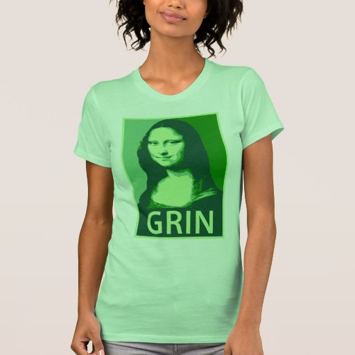 Mueca de Mona Lisa Tshirts