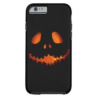 Mueca del esqueleto de la Jack-o-Linterna de Funda Resistente iPhone 6