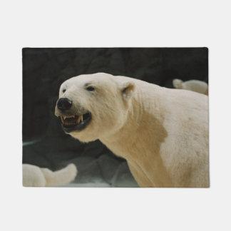 Mueca del oso polar felpudo
