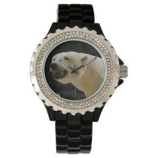 Mueca del oso polar relojes