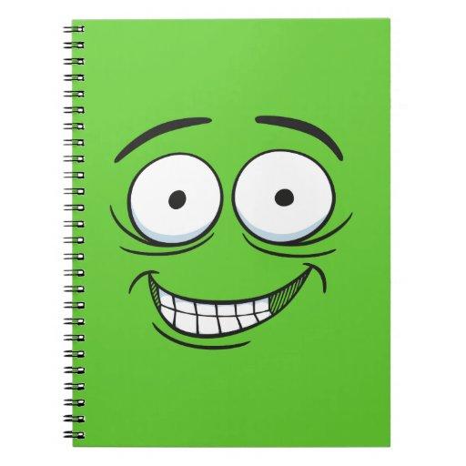 Mueca loca cuaderno