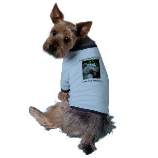 Mueca maquiavélica camisetas mascota
