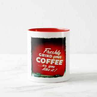 Muela recientemente su Coffe la manera que usted t Taza