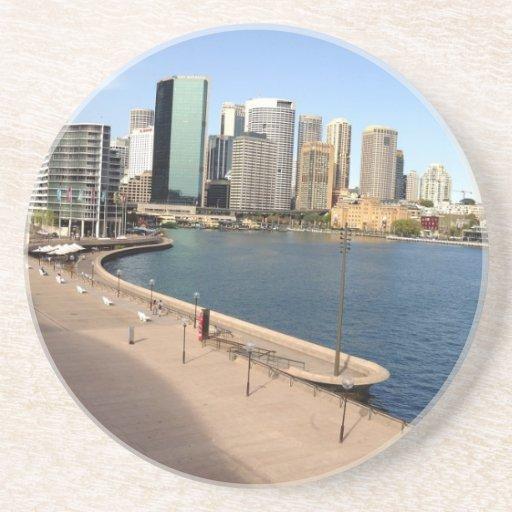 Muelle circular, Sydney Posavasos Diseño