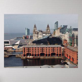 Muelle de Albert - poster de Liverpool