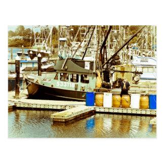 Muelle de la bahía tarjetas postales