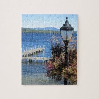 Muelle de la playa de los vertederos puzzle con fotos