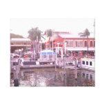 Muelle de Miami Lona Estirada Galerías
