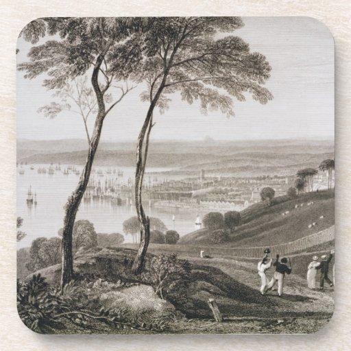 Muelle de Plymouth del soporte Edgecombe, de 'Cook Posavaso