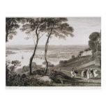 Muelle de Plymouth del soporte Edgecombe, de 'Cook Tarjeta Postal