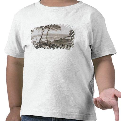 Muelle de Plymouth del soporte Edgecombe, de Camisetas