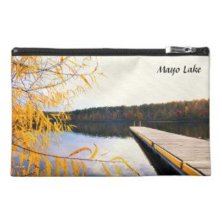Muelle del barco del lago mayo