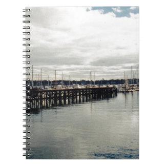 Muelle del barco note book