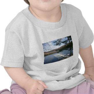 Muelle del barco camiseta