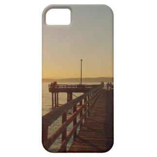 Muelle del compañero Barely There del caso del iPh iPhone 5 Case-Mate Protectores