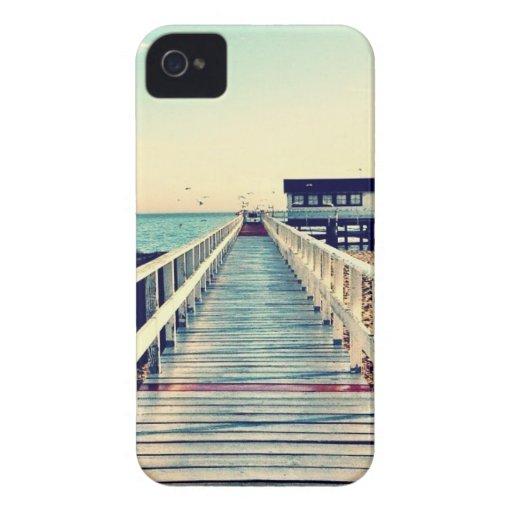 Muelle del océano iPhone 4 protector