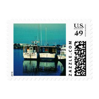 Muelle del tarpón timbres postales