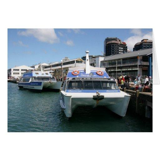 Muelle del transbordador, Wellington. Tarjeta