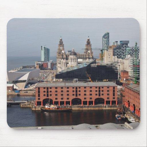 Muelle Liverpool - Mousepad de Albert