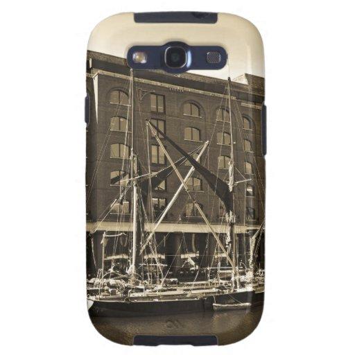 Muelle Londres del St Katherine Samsung Galaxy S3 Cárcasas