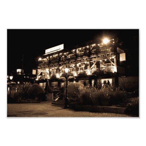 Muelle Londres del st Katherines del Pub del mesón Arte Fotografico