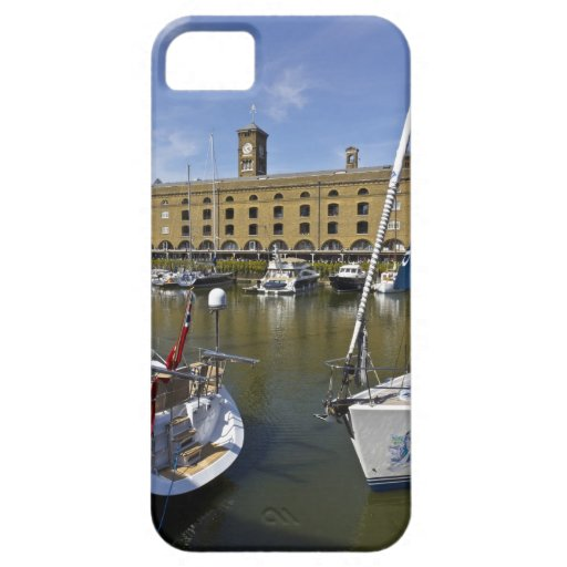 Muelle Londres del St Katherines Funda Para iPhone 5 Barely There