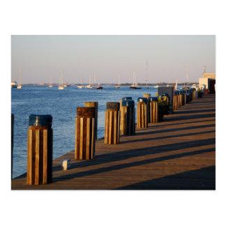 Muelle, puerto de Nantucket Postales