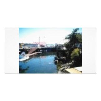 muelle saltspring tarjetas fotograficas