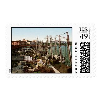 Muelle San Francisco Havana Cuba Stamp