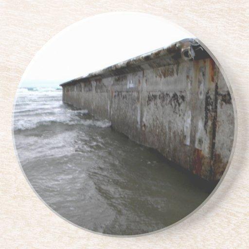 Muelle varado posavasos para bebidas