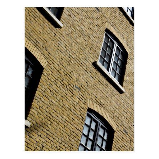 Muelle Windows de los mayordomos Postal