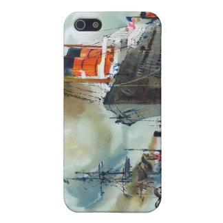 Muelles de Cunarder iPhone 5 Funda