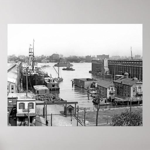 Muelles de Hoboken Posters