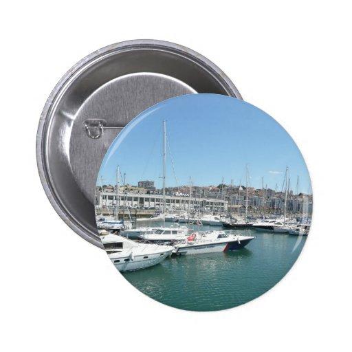 Muelles de Lisboa Pin Redondo 5 Cm