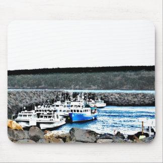 Muelles de Nova Scotian Alfombrillas De Raton