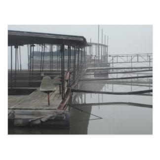 Muelles del barco en el lago del Ozarks Postales