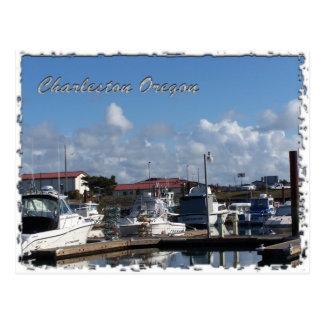 Muelles del barco postales