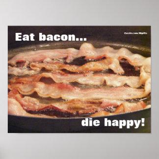 Muera feliz póster