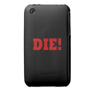 Muera iPhone 3 Case-Mate Carcasa