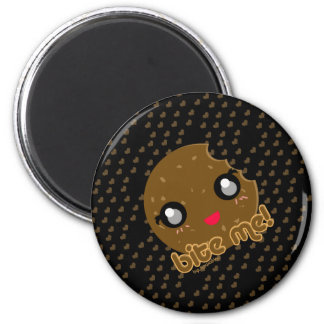 ¡Muérdame! edición de la galleta Imán Redondo 5 Cm