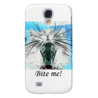 muérdame el caso iPhone3 Funda Para Galaxy S4