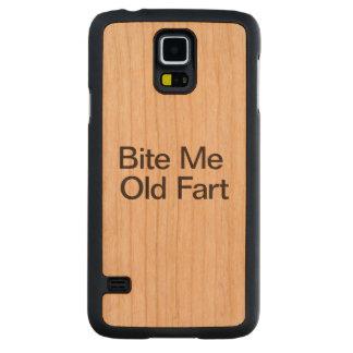 Muérdame Fart.ai viejo Funda De Galaxy S5 Slim Cerezo