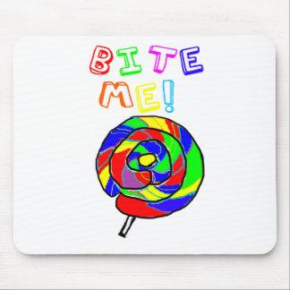 Muérdame Lollipop Alfombrilla De Raton