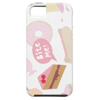 Muérdame, torta del amor iPhone 5 Case-Mate carcasas