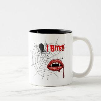 ¡Muerdo la taza de café!!